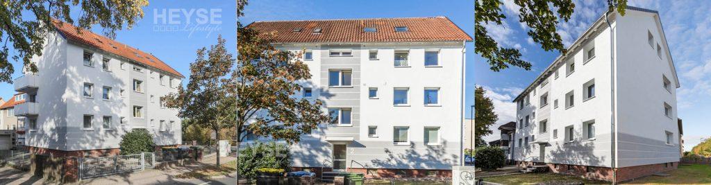 Energetische Sanierung / Wärmedämmverbundsysteme / Fassadensanierung