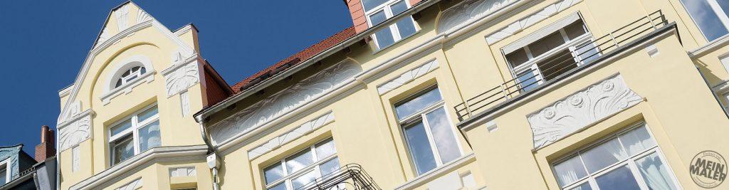 Fassadenbeschichtung / Fassaden-Sanierung / Denkmalschutz
