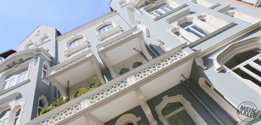 Fassadensanierung, Stilfassaden, Fassadenrenovierung
